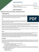 Estudio de Casos de Empresas Colombianas Parte 2 Actividad 4
