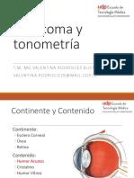 Glaucoma y Tonometría