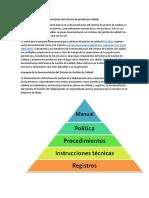 Cómo estructurar la documentación del sistema de gestión de calidad.docx