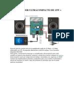 Amplificador de 15 watts