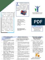 Triptico Toma de Muestra 3 Uroanalisis y Parasitologia