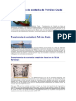 Transferencia de Custodia de Petróleo Crudo