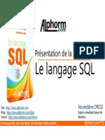 Alphorm.com-support de La Formation Le Langage SQL_SS