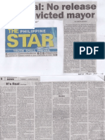Philippine Star, Aug. 27, 2019, It's final No release for covicted mayor.pdf
