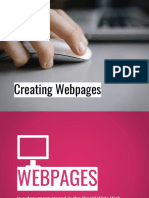 Creating Webpages