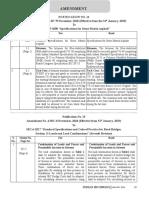 IRC AMENDMENTS JAN 2019