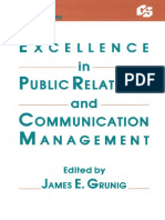 Excelencia en Relaciones publicas