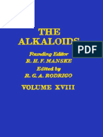 The Alkaloids Chemistry and Physiology v18 Volume