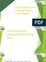 IIEE Load Calculation and Voltage Drop Presentation