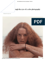 How Joel Meyerowitz Put the Color in Photography - CNN Style