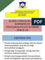 Kursus Pengurusan Pss