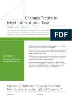 Final Exam - Group 04 - Wal-Mart Changes Tactics to Meet International Taste.pptx