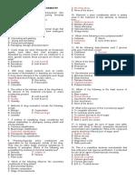 Pharmacognosy Test Bank. 1