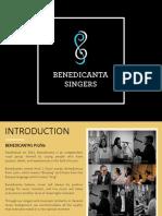 Benedicanta Singers 2019