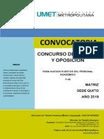CONVOCATORIA-UMET
