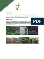 Proyecto Escolar - Muro Verde