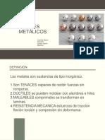 Materiales metalicosXX