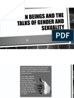 Human Beings and the Talks of Gender and Sexuality