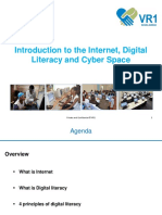 20 -06 -19 - Introduction to the Internet Digital Literacy and Cyber Space