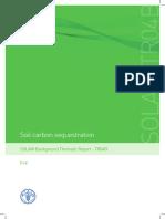 Soil Carbon Sequestration