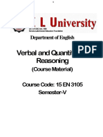 3rd Yr VQR Material