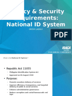 Privacy Security National ID by Drexx Lagui