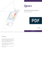 RICS Assessment Resource Centre - UserGuide