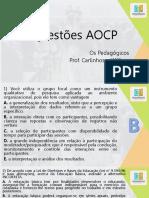 Questões AOCP