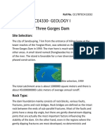Three Gorges Dam Geology assignment.docx