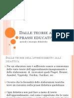 Teorie e Prassi Dell'Educazione