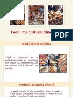 Food-The Cultural Dimension