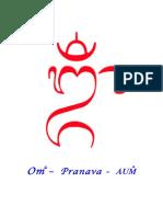 Om – Pranava - AUM