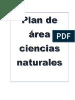 Plan de Ciencias Naturaes Nuevo 2018