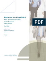 Automation Anywhere RPA and AI VP Abstract 2018-04-10