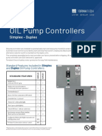 OIL Pump Controller