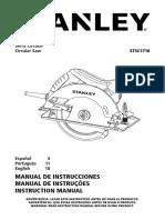 Manual Sierra Circular STSC1718