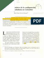 proceso historico de la configuracion de la ciudadania en Colombia.pdf