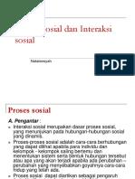 Proses Sosial Dan Interaksi Sosial.ppt