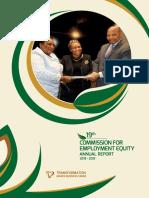 19th CEE-Annual Report