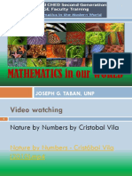 Chapter 1- Mathematics in Our World (1)