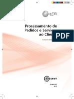 Processamento Pedidos Servico Cliente - LOGISTICA - CEPA