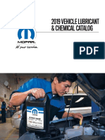 MOPAR 2019 Chemical Catalog