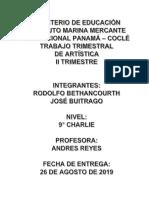 Historia de La Pintura en Panama