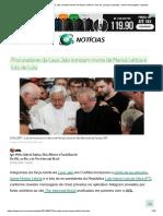 Procuradores Da Lava Jato Ironizam Morte de Marisa Letícia e Luto de Lula Por Parentes, Mostra Mensagens Vazadas