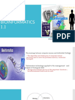 BIOINFORMATICS  1.1