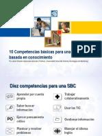 10 Competencias básicas en la SBC