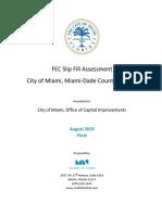 2019-08-09 FEC Slip Fill Feasibility - Feasibility Report