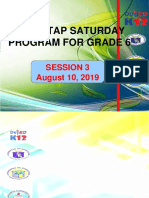 2019 Mtap Grade 6 Session 3