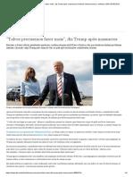 ″Talvez Precisemos Fazer Mais″, Diz Trump Após Massacres _ Notícias Internacionais e Análises _ DW _ 05.08.2019