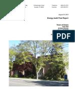 Essex CT Energy Audit